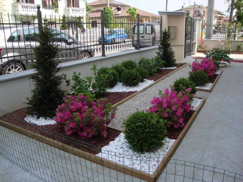 Aiuole in citt paesaggi garden vivaiopaesaggi garden vivaio for Aiuole con pietre